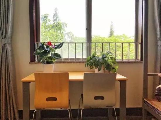 贡院校区新版宿舍,被称作花园景观房。