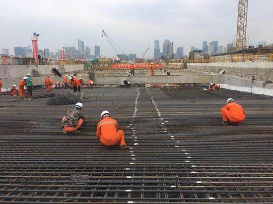 杭州奥体博览城核心区隧道动工 预计亚运会前建成