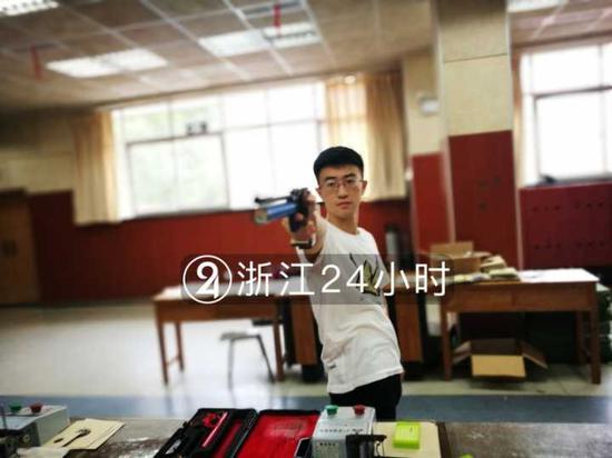 超出预录成绩线100多分 衢州19岁少年枪王圆梦清华