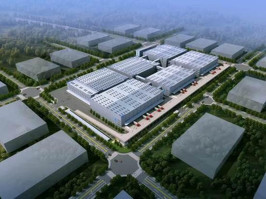 中国智能骨干网(杭州仁和)项目效果图
