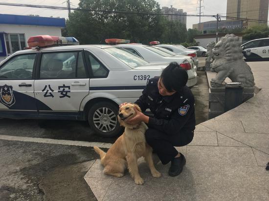 兼职警犬还立了功