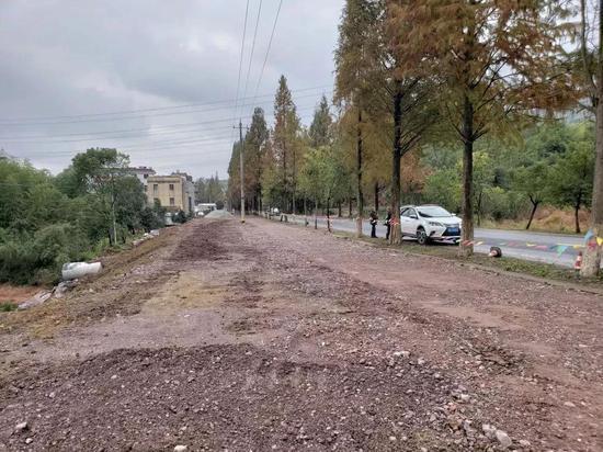 新镜线二期工程龟岩潭段