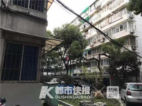 (两幢楼之间的距离有16米左右)