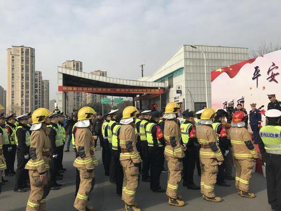 春运启动仪式现场。浙江新闻客户端记者王晨辉 摄