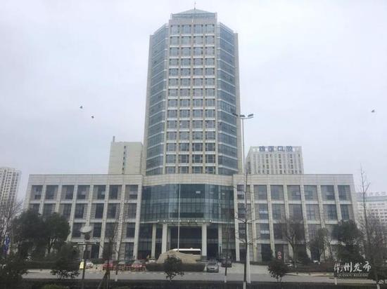 行政中心6号楼(原交通大楼):白云中大道37号