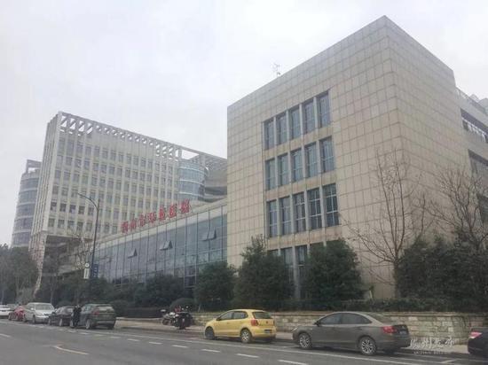 行政中心9号楼(原环保大楼):江郎中路2号