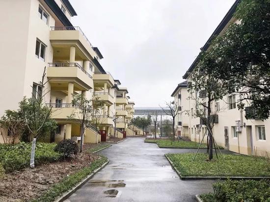 杭州某蓝领公寓。杭州住保房管供图