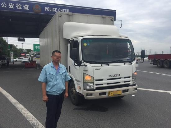 驾驶员浦某 高速交警供图