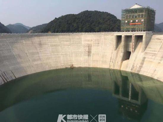 网传杭州超级碗内千岛湖水空了 水务集团:低水位运行