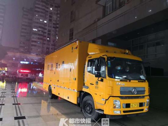 国网杭州供电公司全力保障疫情诊治定点医院电力供应