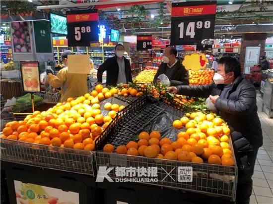 超市里男顾客居多