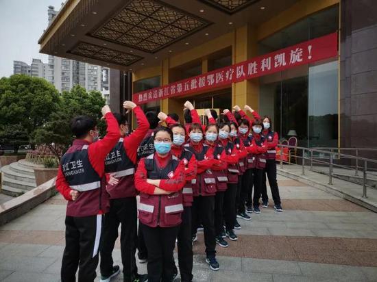 应到2018人实到2018人 浙江最后一批战疫英雄回家了