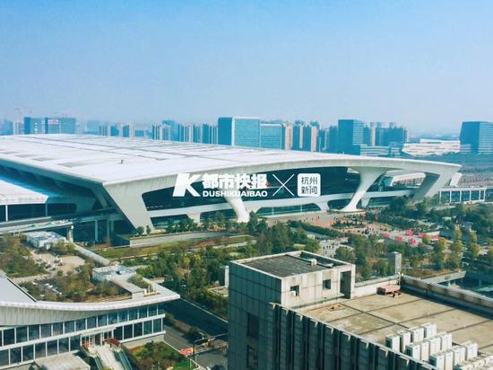 杭州东站停车库升级改造3个月 4000余停车位分块关闭