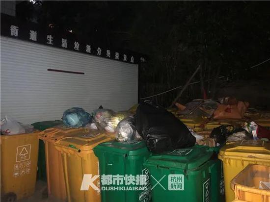 杭不少小区都有这个矛盾 小区垃圾集置点到底放哪里好