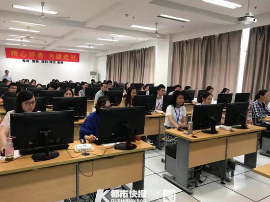杭州中考阅卷正在进行中 7月5日10点可查中考成绩
