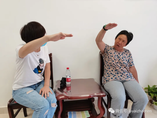 杭州高架下发现的哑女 没找到家人将要在福利院生活