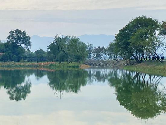 重现千年历史湖景 杭州富阳阳陂湖一期正式对外开放
