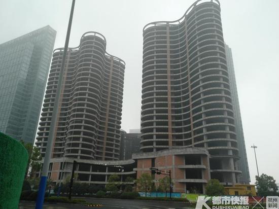 7.84亿 温州一老板拍下钱江新城的一幢烂尾多年的楼
