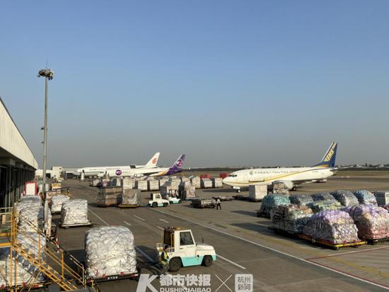 杭州机场将建内地最大国际货站 第二机场提上日程