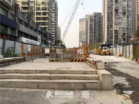 杭州5号线宝善桥站最新消息 将在2021年3月左右完成