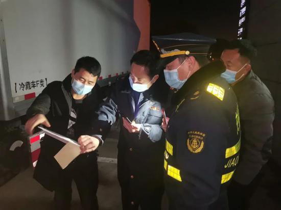 确保安全 今日起进入浙江的冷链运输车辆逢车必检