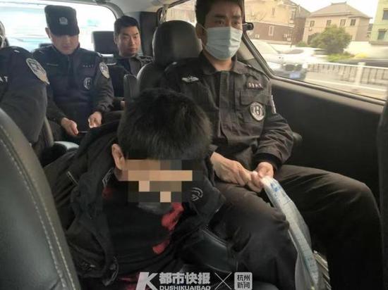 杭州四男子想靠绑架发家致富 人没绑到警察先到了