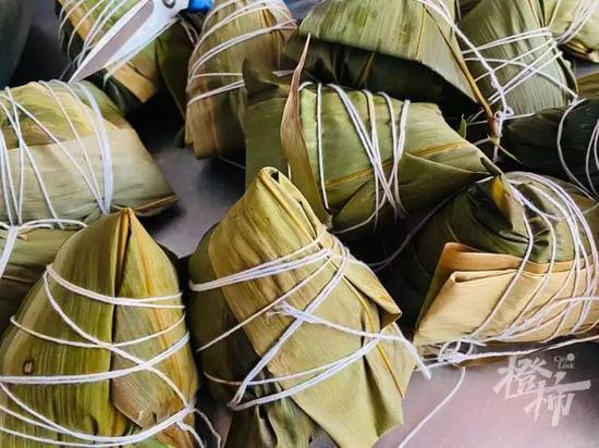 浙江粽子售卖十分火爆 几家网红店已经开始限购