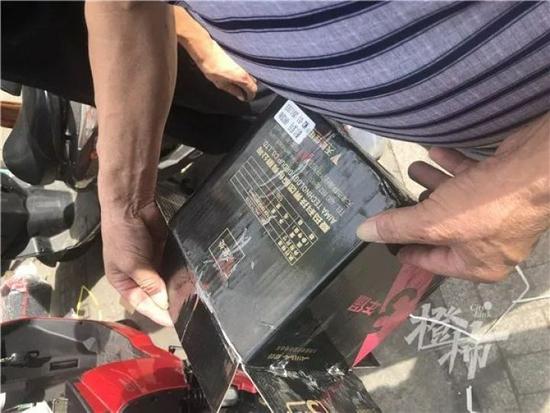 杭州爆炸的电瓶车为迅驰雅马哈品牌 确认安装锂电池