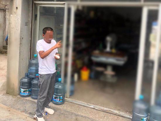 刘某现已被义乌警方依法行政拘留七日 义乌公安提供