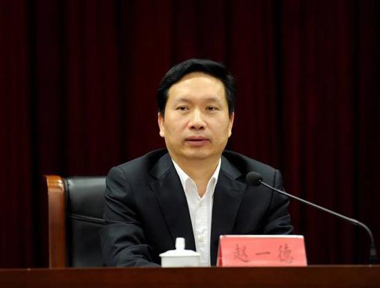 赵一德任陕西省委副书记 此前任河北省委副书记