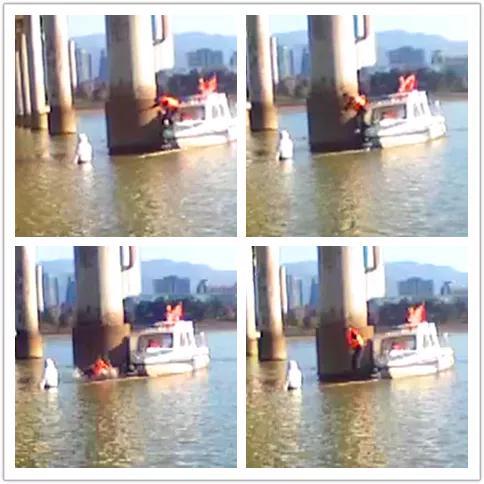 杭56岁老民警跳进寒江救人 妻子事后心疼得流下了泪水