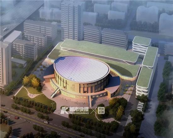杭州市体育馆改造效果图 下城区委宣传部供图