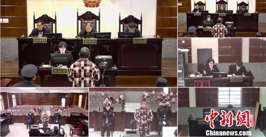 庭审现场。 临安法院 摄