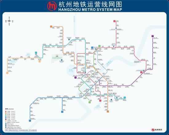 坐着地铁可以这样逛杭州 7大主题地铁游线出炉
