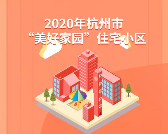 120个小区上榜 杭州2020年美好家园名单来了有你家吗