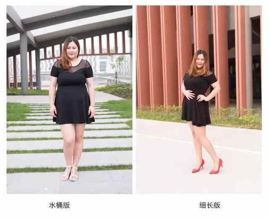 80公斤女孩,在他们镜头下轻松告别广场舞照片