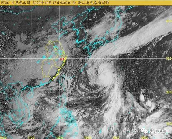 台风灿鸿行进路径已基本确定 今天返杭的朋友要注意