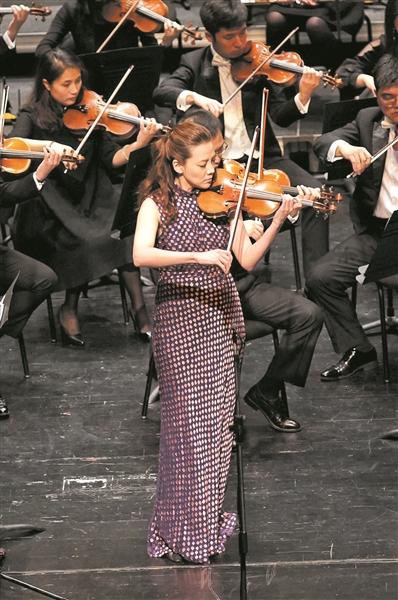 韩国小提琴演奏家康珠美 摄影 毛若皓