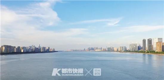 钱塘江两岸都市风光 摄影 黄煜轩