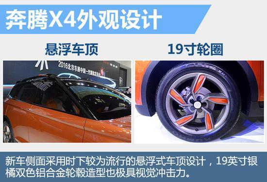一汽奔腾欲逆袭SUV市场 3款新车将上市高清图片
