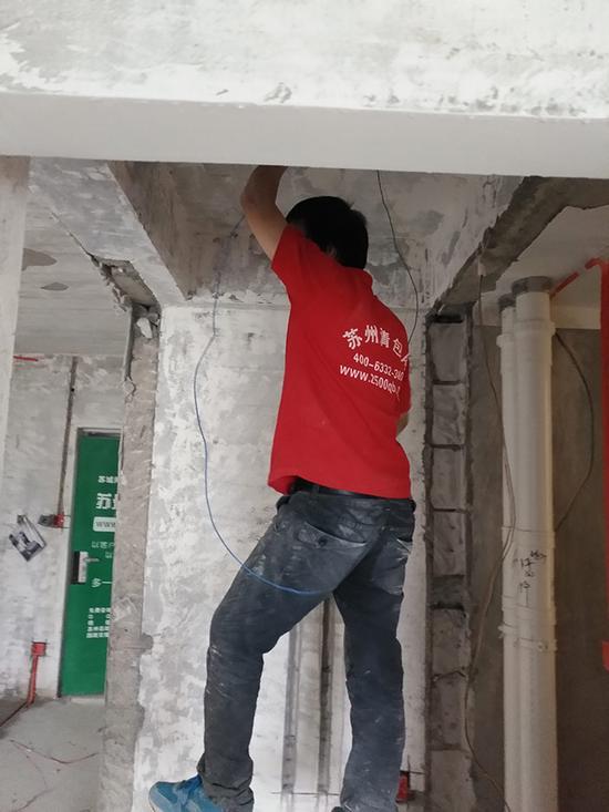 家庭装修水电施工—要点清包网师傅现场解说