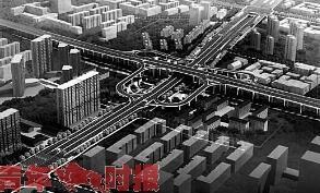 望江路有临时交通改道