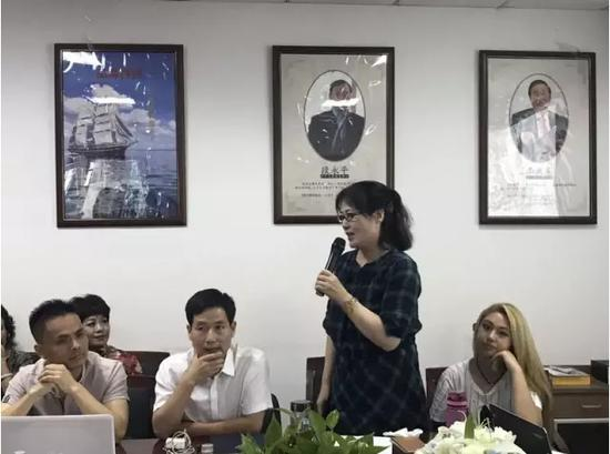 常务副主席刘庆青讲话