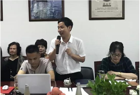 副主席王云(律师)组织赞助商合同讨论