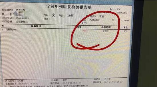 尿淀粉酶高达13551U\/L,参考范围应该是0-500