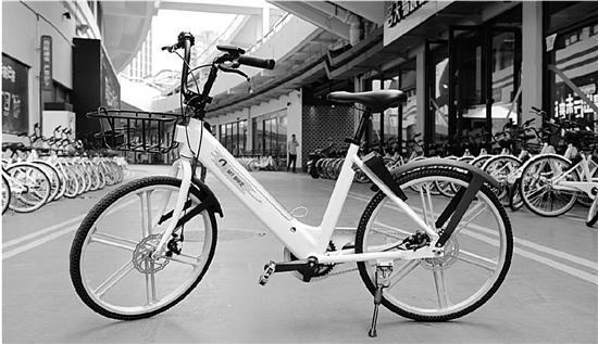 长得像共享单车的电踏车开始上路