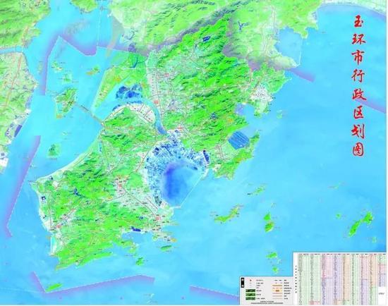 (玉环市行政区划图)-台州玉环市新一轮市域总体规划编制项目正式
