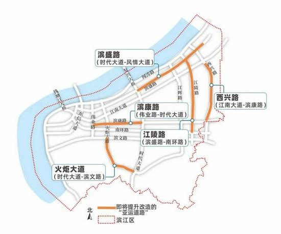 """杭州""""最美跑道""""搬进城市 连通亚运会场的5条路将升"""
