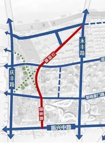 新建永丰路 重建园林路 杨家门路网规划quot;剧透