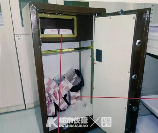 浙1企业保险箱被撬120万被偷27万 小偷:想起1句名言
